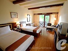 パタヤ ジョムティエンビーチのホテル : ナチュラル パーク リゾート(1)のお部屋「スーペリア ルーム」