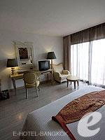 バンコク 王宮・カオサン周辺のホテル : ナバライ リバー リゾート(Navalai River Resort)のシーニック シティルームの設備 Bedroom