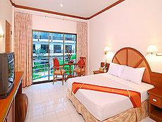 プーケット パトンビーチのホテル : ニパ リゾート(1)のお部屋「デラックス」
