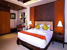 プーケット パトンビーチのホテル : ニパ リゾート(1)のお部屋「デラックス プール アクセス」