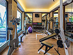 Fitness Gym : Nora Beach Resort & Spa, Chaweng Beach, Phuket