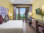 Bed Room : Nora Ocean Villa at Nora Beach Resort & Spa, Pool Villa, Samui