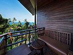 Balcony : Nora Ocean Villa at Nora Beach Resort & Spa, Pool Villa, Samui