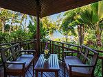 Balcony : Nora Tropical Suite at Nora Beach Resort & Spa, Pool Villa, Samui
