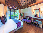 Bed Room : Pool Villa Suite at Nora Beach Resort & Spa, Pool Villa, Samui