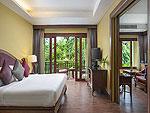 Bed Room : Beach Front Pool Villa Suite at Nora Beach Resort & Spa, Pool Villa, Samui