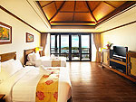 Room View : Deluxe Hillside Seaview at Nora Buri Resort & Spa, Chaweng Beach, Samui