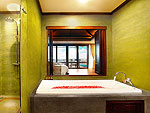 Bath Room : Deluxe Hillside Seaview at Nora Buri Resort & Spa, Chaweng Beach, Samui
