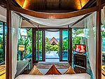 Bedroom : Pool Villa - Beachside at Nora Buri Resort & Spa, Chaweng Beach, Samui