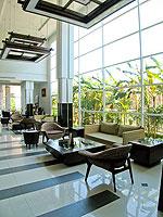 サムイ島 チャウエンビーチのホテル : ノラ チャウエン ホテル 「Lobby」