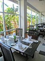 サムイ島 チャウエンビーチのホテル : ノラ チャウエン ホテル 「Restaurant」