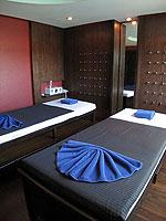 サムイ島 コネクティングルームのホテル : ノラ チャウエン ホテル 「Spa」