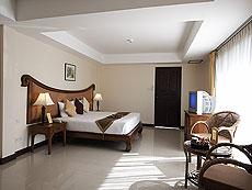 サムイ島 チャウエンビーチのホテル : ノラ レイクビュー ホテル(1)のお部屋「デラックス」
