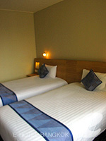バンコク サイアム・プラトゥーナムのホテル : ノボテル バンコク オン サイアムスクエア(Novotel Bangkok On Siam Square)のスーペリアルームの設備 Bedroom