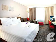 バンコク サイアム・プラトゥーナムのホテル : ノボテル バンコク オン サイアムスクエア(Novotel Bangkok On Siam Square)のお部屋「デラックス」