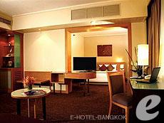 バンコク サイアム・プラトゥーナムのホテル : ノボテル バンコク オン サイアムスクエア(Novotel Bangkok On Siam Square)のお部屋「スイート」