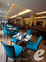 プーケット プールアクセスのホテル : ノボテル プーケット ビンテージ パークリゾート 「Restaurant」