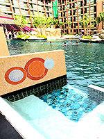 プーケット スパ併設のホテル : ノボテル プーケット ビンテージ パークリゾート(Novotel Phuket Vintage Park)のデラックス プールアセスルームの設備 Pool Access