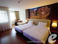 プーケット ファミリー&グループのホテル : ノボテル プーケット ビンテージ パークリゾート(1)のお部屋「デラックス プールアセス」
