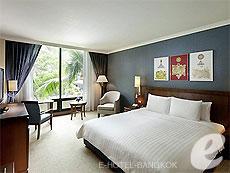 バンコク スワンナプーム空港周辺のホテル : ノボテル スワンナプーム エアポート ホテル(Novotel Bangkok Suvarnabhumi Airport)のお部屋「スーペリア ウィズ ブレックファースト」