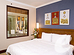 バンコク スワンナプーム空港周辺のホテル : ノボテル スワンナプーム エアポート ホテル(Novotel Bangkok Suvarnabhumi Airport)のデラックス ウィズ ブレックファーストルームの設備 Bedroom