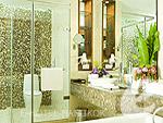 バンコク スワンナプーム空港周辺のホテル : ノボテル スワンナプーム エアポート ホテル(Novotel Bangkok Suvarnabhumi Airport)のエグゼクティブ スイート ウィズ ブレックファーストルームの設備 Bath Room