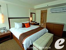 バンコク スクンビットのホテル : オークウッド レジデンス スクンビット24 バンコク(Oakwood Residence Skumvit 24 Bangkok)のお部屋「2ベッドルーム (ウィズABF」
