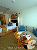 バンコク スクンビットのホテル : オークウッド レジデンス スクンビット24 バンコク(Oakwood Residence Skumvit 24 Bangkok)のスタジオ デラックス (ルームオンリー)ルームの設備 Bedroom