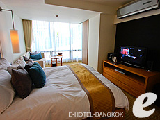 バンコク スクンビットのホテル : オークウッド レジデンス スクンビット24 バンコク(Oakwood Residence Skumvit 24 Bangkok)のお部屋「スタジオ デラックス (ルームオンリー)」