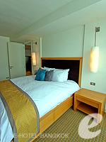 バンコク スクンビットのホテル : オークウッド レジデンス スクンビット24 バンコク(Oakwood Residence Skumvit 24 Bangkok)の1ベッドルーム (ルームオンリー)ルームの設備 Bedroom