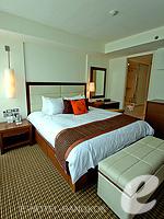 バンコク スクンビットのホテル : オークウッド レジデンス スクンビット24 バンコク(Oakwood Residence Skumvit 24 Bangkok)の2ベッドルーム (ルームオンリー)ルームの設備 Master Bedroom