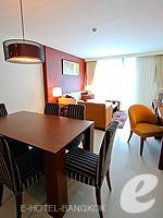 バンコク スクンビットのホテル : オークウッド レジデンス スクンビット24 バンコク(Oakwood Residence Skumvit 24 Bangkok)の2ベッドルーム (ルームオンリー)ルームの設備 Dining Area