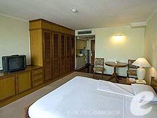バンコク ファミリー&グループのホテル : オムニ タワー スクンビット ナナ バイ コンパス ホスピタリティ(Omni Tower Sukhumvit Nana by Compass Hospitality)のお部屋「スタジオ エグゼクティブ」