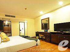 バンコク ファミリー&グループのホテル : オムニ タワー スクンビット ナナ バイ コンパス ホスピタリティ(Omni Tower Sukhumvit Nana by Compass Hospitality)のお部屋「1 ベッドルーム プレミア」