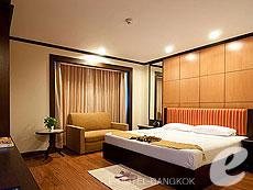 バンコク ファミリー&グループのホテル : オムニ タワー スクンビット ナナ バイ コンパス ホスピタリティ(Omni Tower Sukhumvit Nana by Compass Hospitality)のお部屋「2 ベッドルーム プレミア」