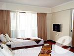 バンコク ファミリー&グループのホテル : オムニ タワー スクンビット ナナ バイ コンパス ホスピタリティ(Omni Tower Sukhumvit Nana by Compass Hospitality)の3 ベッドルームプレミアルームの設備 Bedroom