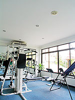 Fitness Gym : Orchidacea Resort, Long Stay, Phuket