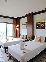 プーケット フィットネスありのホテル : オーキダシア リゾート(Orchidacea Resort)のスーペリアルームの設備 Bedroom