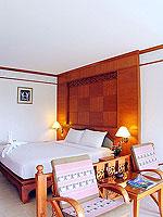 プーケット フィットネスありのホテル : オーキダシア リゾート(Orchidacea Resort)のデラックス シービュー ルームの設備 Bedroom