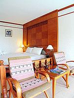 プーケット フィットネスありのホテル : オーキダシア リゾート(Orchidacea Resort)のデラックス シービュー ルームの設備 Relax Area