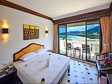 プーケット カタビーチのホテル : オーキダシア リゾート(1)のお部屋「デラックス シービュー 」