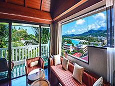プーケット カタビーチのホテル : オーキダシア リゾート(1)のお部屋「プレミア スイート シービュー」