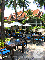 Cafe Loma : Outrigger Laguna Phuket Beach Resort, with Spa, Phuket