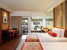 プーケット ファミリー&グループのホテル : アウトリガー ラグーナ プーケット リゾート(1)のお部屋「デラックス ラグーン」