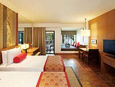 プーケット ファミリー&グループのホテル : アウトリガー ラグーナ プーケット リゾート(1)のお部屋「クラブ シービュー」