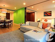 プーケット 2ベッドルームのホテル : アンサナ ヴィレッジ リゾート(1)のお部屋「1ベッドルーム スイート」