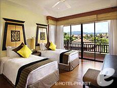 プーケット 2ベッドルームのホテル : アンサナ ヴィレッジ リゾート(1)のお部屋「4ベッドルーム プール ヴィラ」