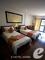 クラビ キャンペーンのホテル : ピピ アイランド ヴィレッジ ビーチリゾート(Phi Phi Island Village Beach Resort)のデラックス バンガロウルームの設備 Room View