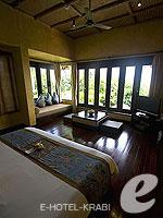 クラビ キャンペーンのホテル : ピピ アイランド ヴィレッジ ビーチリゾート(Phi Phi Island Village Beach Resort)のヒルサイド プール ビラルームの設備 Room View