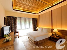 クラビ キャンペーンのホテル : ピピ アイランド ヴィレッジ ビーチリゾート(1)のお部屋「デラックス ガーデン」